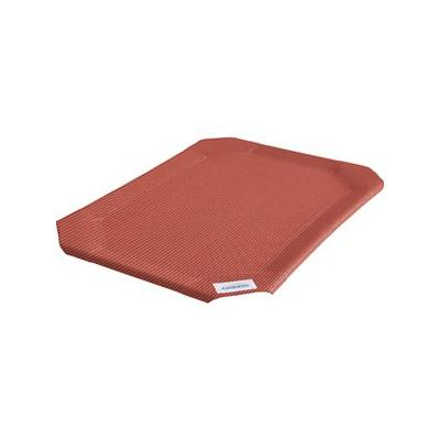 Coolaroo Replacement Cover for Steel-Framed Elevated Pet Bed, Terracotta, Large