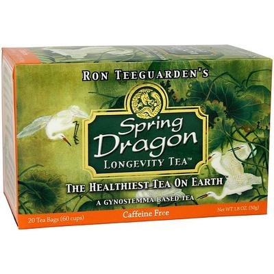 Dragon Herbs Teas, Coffees and Beverages - Spring Dragon Longevity Tea
