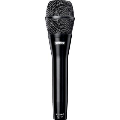 Shure Dual Pattern Cond Mic Handheld Vocal Microphone,Black