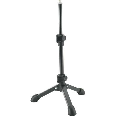 K&M Deluxe tabletop mic stand Heavy Duty collapsable table top stand