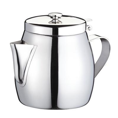 Browne 515262 Stackable Teapot, 12 oz, Stainless Steel on Sale