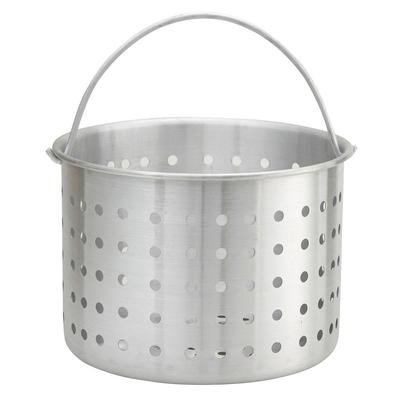 Winco ALSB-20 20 qt Aluminum Steamer Basket, 10.4 dia., 8.8H on Sale