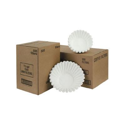 Fetco F004 Paper Coffee Filters - 20 x 8 on Sale
