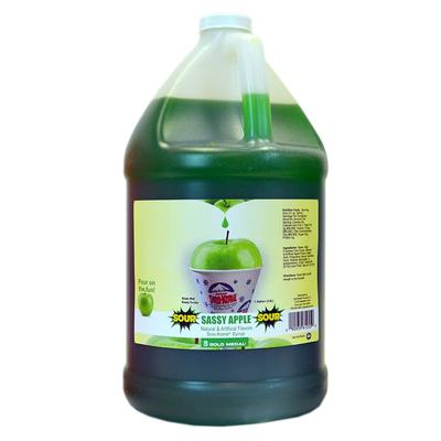 Gold Medal 1255S Watermelon Snow Cone Syrup Sweetened w/ Saccharin, Ready-To-Use, (4) 1 gal Jugs