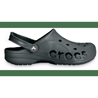 Crocs Graphite Baya Clog Shoes on Sale