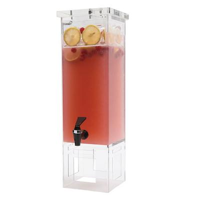 Rosseto LD111 2 gal Rectangular Beverage Dispenser - Acrylic Base on Sale