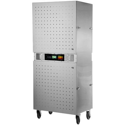 Excalibur COMM2 Stainless Steel Two Zone Commercial Dehydrator - 5000W