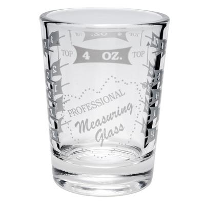 Libbey 5134/1124N 4 oz Mixing Glass - Capacity Markings on Both Sides on Sale