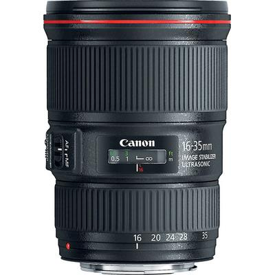 Canon EF 16-35mm f/4L IS USM Lens on Sale
