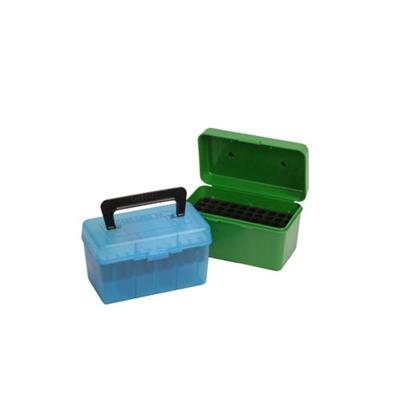 Mtm Rifle Ammo Boxes - Ammo Boxes Rifle Green 22-250 Remington - 308 Winchester 50