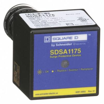 SQUARE D SDSA1175 Surge Protection Device,1 Phase,120/240V