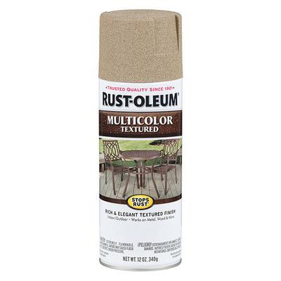 Textured Spray Paint, Desert Bisque, Textured Paint and Primer Finish, Net Weight 12 oz., Paint and Primer Surface Material Concrete, Masonry, Metal, Wood, Solvent Base Type, Resin Type Enamel, Application Temperature 50 to 90 Degrees F,...