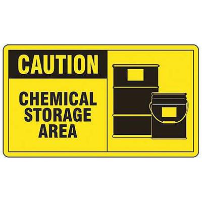 ACCUFORM LCHL610VSP Safety Label,5 In. W,3-1/2 In. H,PK5
