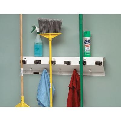 Choose from a ton of top brand names in tool hanger and tool storage and solutions like Steelman, The Clincher, Vikan, Rubbermaid, Unger, Toolhanger, Continental, Quantum Storage and more. Take a look at the features for The Clincher Mop and Broom...