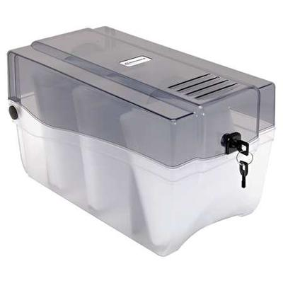 INNOVERA IVR39502 CD/DVD Storage Container,Holds 150 Discs