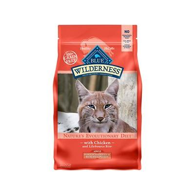 Blue Buffalo Wilderness Indoor Hairball & Weight Control Chicken Grain-Free Dry Cat Food, 5-lb