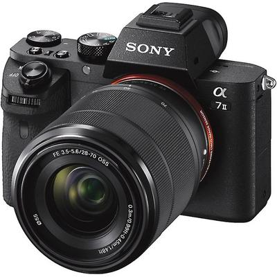 Sony Alpha 7 II ILCE-7M2 Digital Camera with 28-70mm, 24.3MP , Wi-Fi