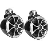 Wet Sounds Icon 8 B-FC 8 Black Marine Tower Speakers Fixed