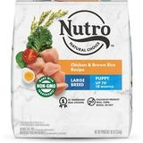 Nutro Natural Choice Large Breed Puppy Chicken, Whole Brown Rice & Oatmeal Recipe Dry Dog Food, 30lb