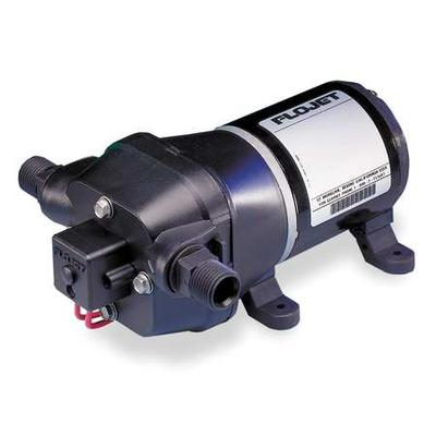 FLOJET 04405143S Water System Pump,12 VDC,1/2 In