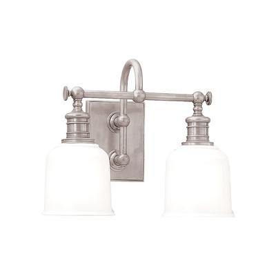 Hudson Valley Lighting Keswick 13 1 2 W Satin Nickel Bath