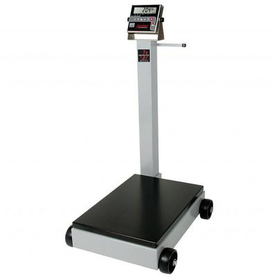 Detecto 8852F-190 1000 lb Digital Portable Scale w/ 190 Weight Display Indicator on Sale