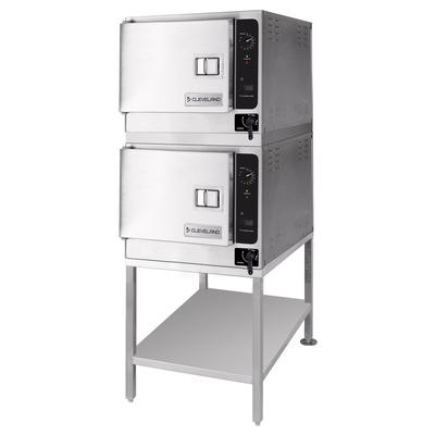 Cleveland (2) 22CET33.1 (6) Pan Convection Steamer - Stand, 208v/3ph on Sale