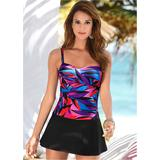 Swim Dress One-Piece Swimsuits & Monokinis - Purple/pink/black/blue