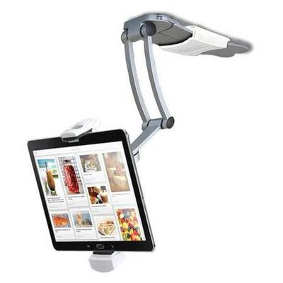 CTA DIGITAL PAD-KMS 2-in-1 Kitchen Mount/Stand for Tablets