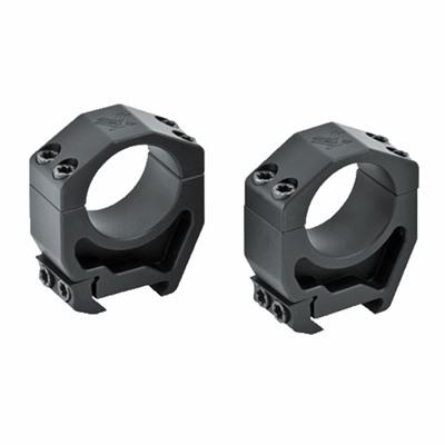 "Vortex Precision Matched Riflescope Rings - 30mm Ar High (1.45"") Aluminum Picatinny Rings"