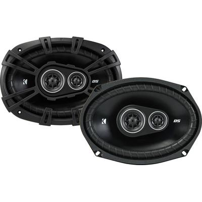 "Kicker 43DSC69304 6""x9"" 3-way Speakers on Sale"