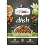 Rachael Ray Nutrish Dish Natural Chicken & Brown Rice Recipe with Veggies & Fruit Dry Dog Food, 11.5-lb bag