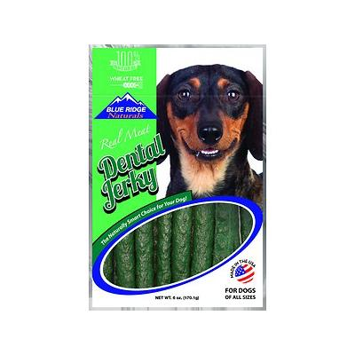 Blue Ridge Naturals Dental Jerky Dog Treats, 6-oz bag