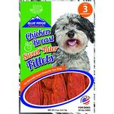 Blue Ridge Naturals Chicken Breast & Sweet Tater Fillets Dog Treats, 5-oz bag