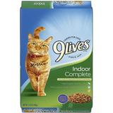 9 Lives Indoor Complete with Chicken & salmon Flavor Dry Cat Food, 12-lb bag