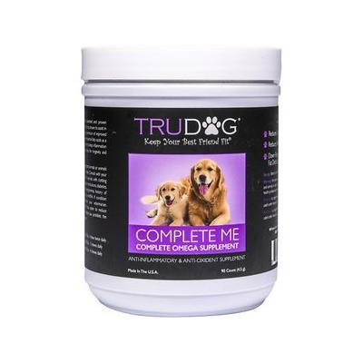 TruDog Complete Me Omega 7 Multi-Vitamin Soft Chew Dog Treats, 90 count