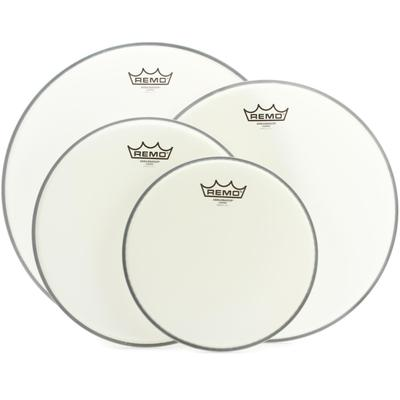 Remo Ambassador Coated 4-piece Tom Pack - 10/12/14/16 inch
