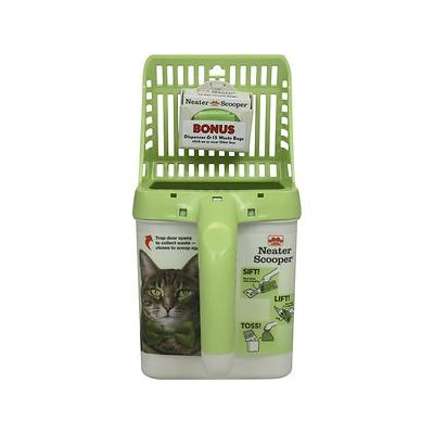 Neater Scooper Cat Litter Scoop, Green
