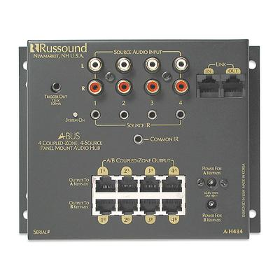 Russound A-H484 Four Room Four Source Hub for A-BUS on Sale