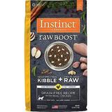 Instinct by Nature's Variety Raw Boost Grain-Free Recipe with Real Chicken Dry Cat Food, 5-lb bag