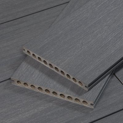 TruOrganics Composite Decking, Grey, 8ft Boards, Wide Plank, Sample