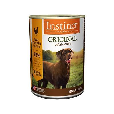 Instinct Original Grain-Free Real Chicken Recipe Natural Wet Canned Dog Food, 13.2-oz, case of 6