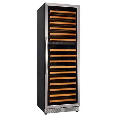 Eurodib USF168D 24 One Section Wine Cooler w/ (2) Zones, 154 Bottle Capacity, 110v on Sale