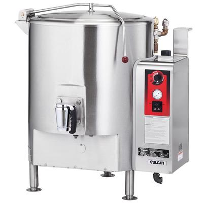 Crown Steam GL-80E 80 gal. Steam Kettle - Stationary, 2/3 Jacket, LP on Sale