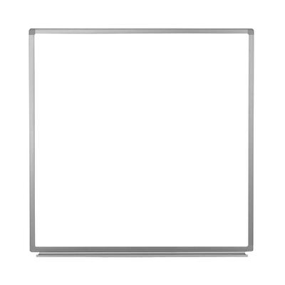 Luxor WB4848W 48 Square Wall-Mounted Whiteboard w/ Aluminum Frame on Sale