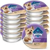 Blue Buffalo Divine Delights Porterhouse Flavor Pate Dog Food Trays, 3.5-oz, case of 12