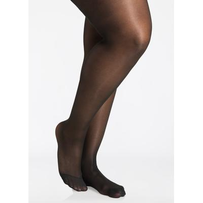 Plus Size Berkshire Queen Silky Control Top Pantyhose