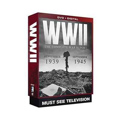 74% PRICE DROP: WWII Diaries - 19 DVD Collectors Set