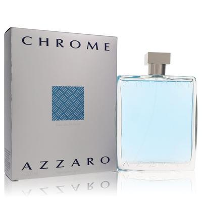 Chrome For Men By Azzaro Eau De Toilette Spray 6.8 Oz