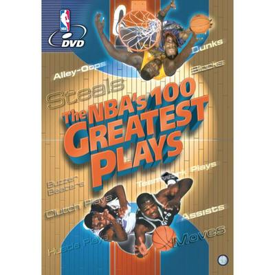 """NBA The NBA's 100 Greatest Plays DVD"""